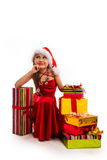 Christmas gifts. Royalty Free Stock Photo