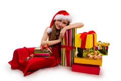 Christmas gifts. Royalty Free Stock Photography