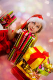 Christmas gifts. Royalty Free Stock Image