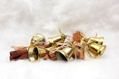 Christmas gifts and symbols Royalty Free Stock Image