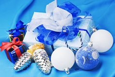Christmas gifts and toys Royalty Free Stock Photo