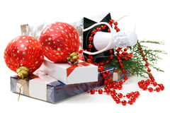Christmas gifts and toys. Stock Photography
