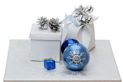 Christmas gifts and toys Stock Photography
