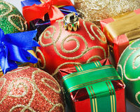 Christmas gifts and toys Stock Image