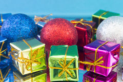 Christmas gifts and toys Stock Images