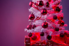 Christmas gifts under the Christmas tree Royalty Free Stock Photo