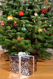 Christmas gifts. Under the tree Royalty Free Stock Image