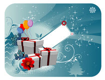 Christmas Gifts Vector Royalty Free Stock Image