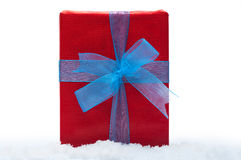 Christmas gifts  on white background Stock Photo