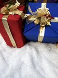 Christmas gifts. Wrapped up Royalty Free Stock Photography