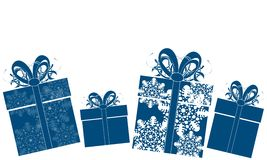 Christmas gifts. For your design Stock Image