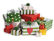 Christmas giifts Royalty Free Stock Images