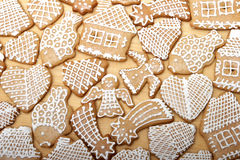 Christmas Ginger Bread Stock Photo