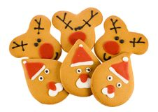 Christmas ginger-bread Royalty Free Stock Image