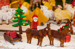 Christmas Ginger Bread Scene Royalty Free Stock Image