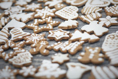 Christmas ginger breads Royalty Free Stock Images