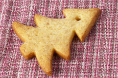 Christmas ginger butter cookie Stock Photo