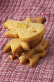 Christmas ginger butter cookies Royalty Free Stock Image