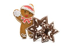 christmas ginger cookies  Stock Image