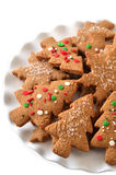 Christmas ginger cookies Royalty Free Stock Photography