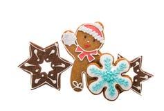 christmas ginger cookies  Stock Photo