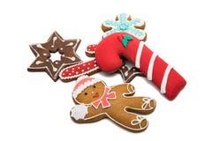 christmas ginger cookies  Stock Photos