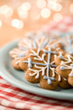 Christmas gingerbread Stock Image