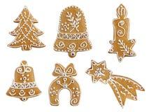 Christmas gingerbread royalty free stock photos