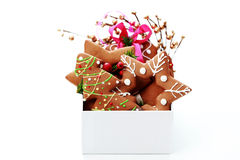 Christmas gingerbread Stock Image