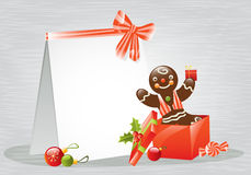 Christmas gingerbread royalty free illustration