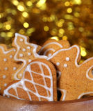 Christmas gingerbread Royalty Free Stock Photos