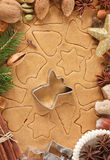 Christmas gingerbread. Royalty Free Stock Photography