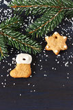 Christmas gingerbread. Royalty Free Stock Images