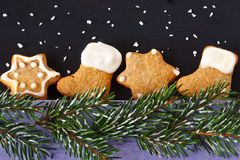 Christmas gingerbread. Stock Photos