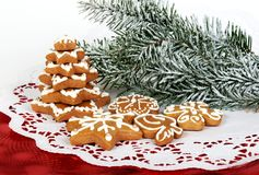 christmas gingerbread Στοκ Εικόνες