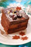 Christmas gingerbread cake Stock Photo