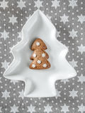 Christmas gingerbread cake Stock Images