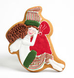 Christmas gingerbread cakes by the year sheep Stock Image