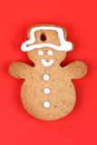 Christmas gingerbread cookie Stock Images