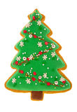 Christmas Gingerbread cookie Stock Image