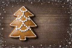 Christmas gingerbread cookie Royalty Free Stock Photo