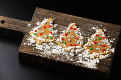 Christmas gingerbread cookie Stock Photo