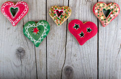 Christmas gingerbread cookie Royalty Free Stock Image