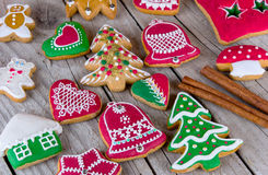 Christmas gingerbread cookie Royalty Free Stock Images