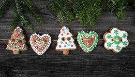 Christmas gingerbread cookie Stock Photography