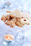Christmas gingerbread and cookies Royalty Free Stock Photography