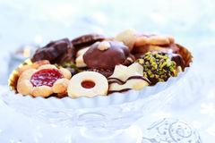 Christmas gingerbread and cookies Royalty Free Stock Images