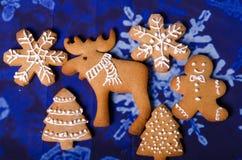Christmas gingerbread cookies Stock Image