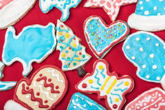 Christmas gingerbread cookies homemade Stock Photography