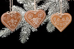 Christmas Gingerbread. Royalty Free Stock Image